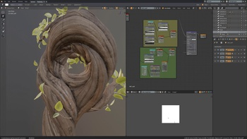 New Material View for Texture Painting