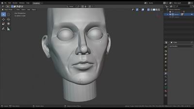 Sculpting a complete Planar Head