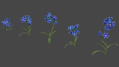 Bluebell flower tweaks