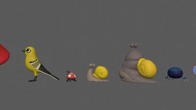 Animal Lineup - Animals Sculpting