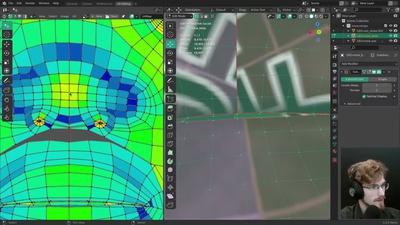 Live: Body UV Mapping