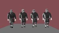 Hechman walkcycle comparison