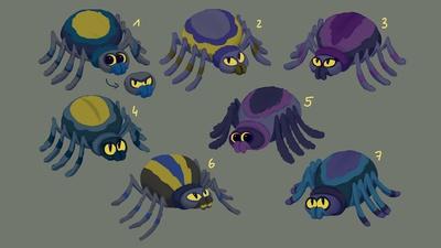 Spider Designs 2