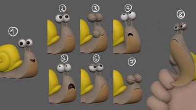 Snail Expression Sheet