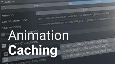 Animation Caching Exploration