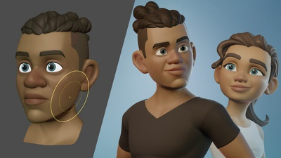 Announcing Snow: Stylized Character Workflow Update