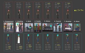 Character Variations Sheet