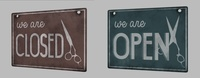 Open & closed Sign
