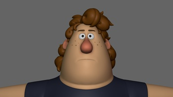Phil messy hair sculpt