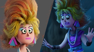 New Production Lesson: Distressed Shading For Characters