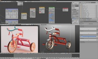 Children's tricycle (blend file)