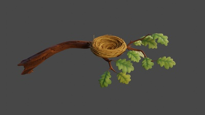 Branch (Nest) - Shading