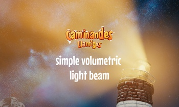 Simple Volumetric Light Beam