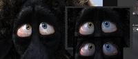 Modifying Franck's eyes