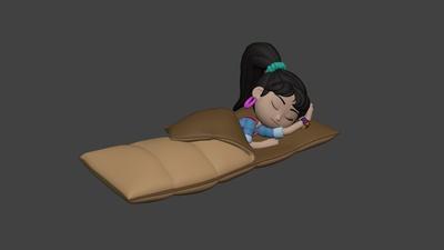 Sleeping Bag - Ellie #1
