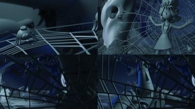 whack-a-mole set: spider web modeling