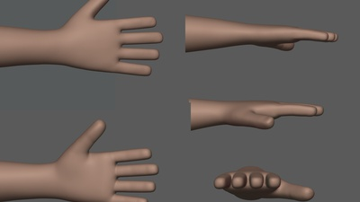 Rex Sculpting #1 (Hands)