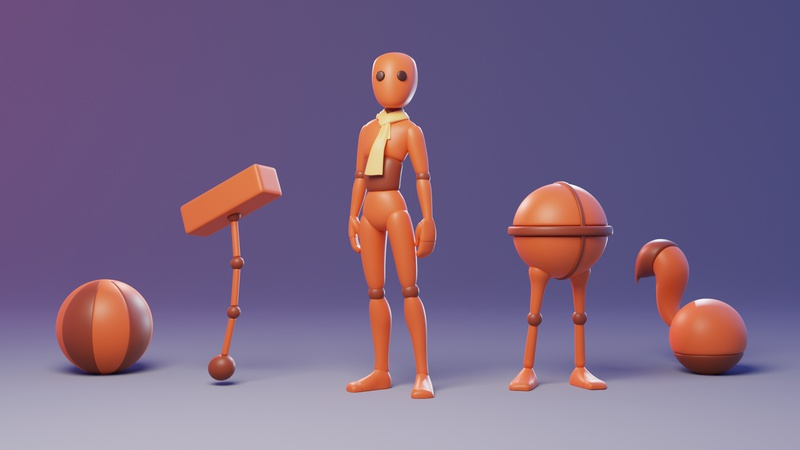 Animation Fundamentals Rigs v1.0