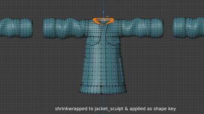 Ellie jacket collar - mini tutorial