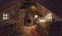 Environment: inside Spring's hut