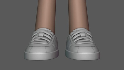 Rex Sculpting #2 (Shoes)
