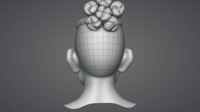 9 - Hair Retopology