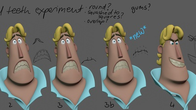 Rex Closed Teeth paintover
