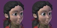 Spring Facials #1 (original vs round eyes)