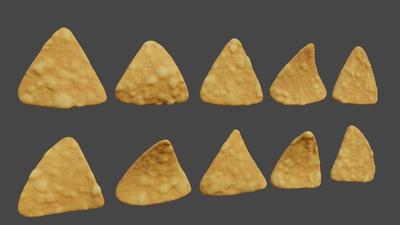 Corn Darts - Shading